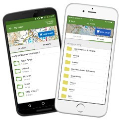 Map Management on devices