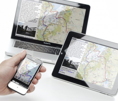 View ViewRanger topographic map charts on your smartphone, on your tablet, and online.