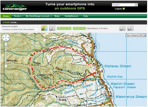 New Zealand LINZ Maps Now Available For Online Route Planning At My