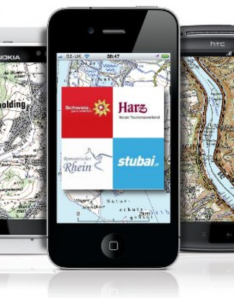 Combine GPS trail guides with topographic mapping in the ViewRanger Outdoors GPS app.