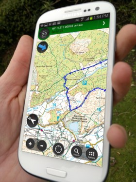 ViewRanger Outdoors GPS app V4.0 for Android