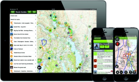 ViewRanger V4 Outdoors GPS for Apple iPhone iPad
