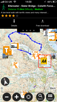 Discover hiking biking gps trail guides from publishers and viewranger users
