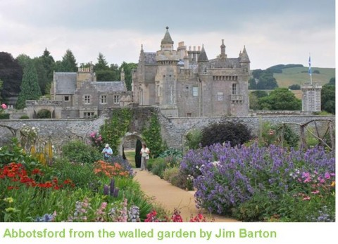 Abbotsford from the walled garden_caption.jpg