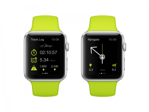 Apple Watch GPS Navigation Trail Guides