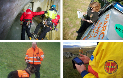 Used and trusted by Search and Rescue teams