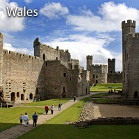 Wales – Welsh country residence and Royal history
