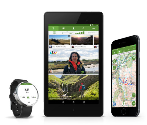 The Outdoor Discovery App