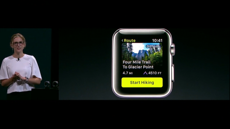 ViewRanger for Apple Watch