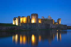 Guy Fawkes: Caerphilly Castle