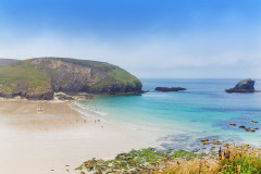 Hiking in Cornwall; Chapel Porth Beach