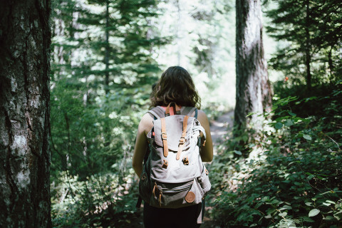 Hiking alone safely