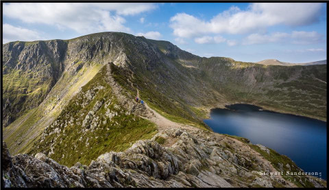 The Lake District: Helvellyn via Striding Edge by Stewart Sanderson