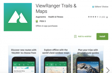 ViewRanger awarded Editors' Choice in Google Play Store