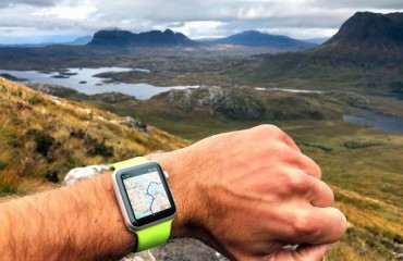 Discover the best hiking routes near you – with a glance at your wrist