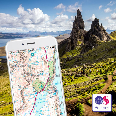 OS maps for Great Britain