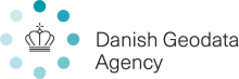 Danish Geodata Agency logo