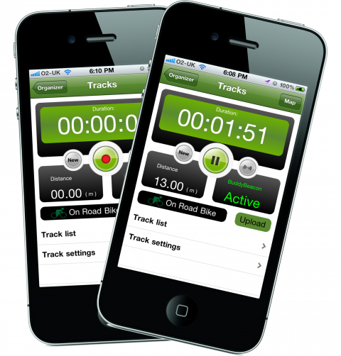 Record your outdoor adventure with ViewRanger Outdoors GPS app