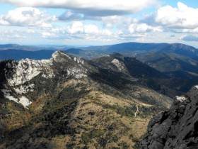 The Peyrepertuse Ridge