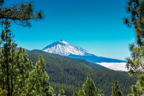 Mount Teide, Teide National Park, Tenerife, Spain. Canary Islands.