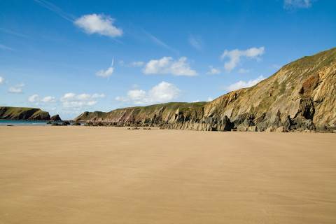 Marloes Sands, beach on Marloes Peninsular, Best UK Coastal Walks