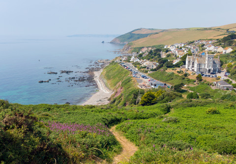 Portwrinkle Village Whitsand Bay South west coast path Best UK Coastal walks
