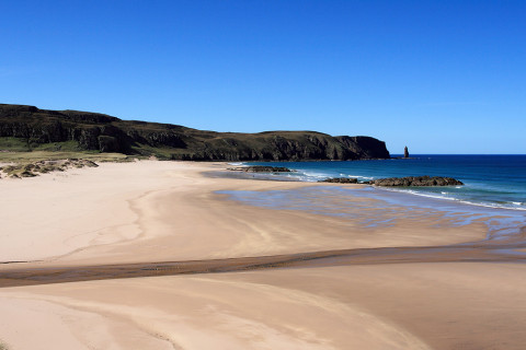 Sandwood Bay Scotland Remote Beach UK Best Coastal Walks