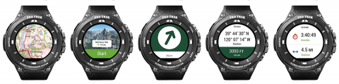 Get the world's best outdoor maps on your wrist with our new Android smartwatch app.