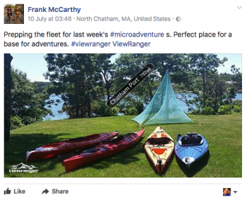 Frank McCarthy's kayak expeditions