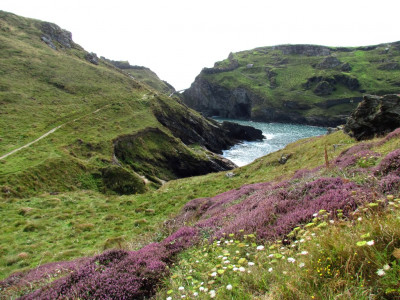 Tintagel, North Cornwall. Discovering Britain routes with Royal Geographical Society and ViewRanger