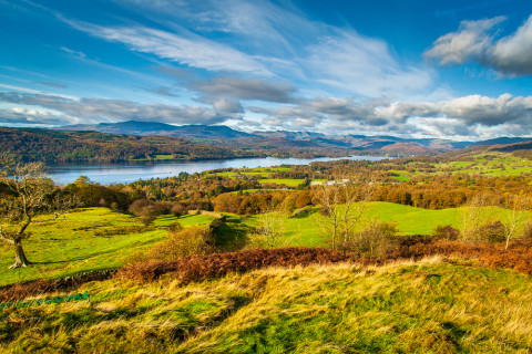 The Lake District: Orrest Head, Wainwright's introduction to the National Park By Tomasz Wozniak/Shutterstock