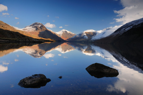 The Lake District: Scafell Pike from Wastwater by Stewart Smith Photography/Shutterstock