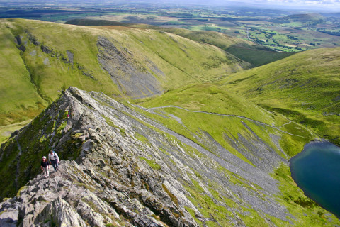 The Lake District: Sharp Edge Blencathra