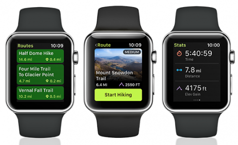 ViewRanger para Apple Watch