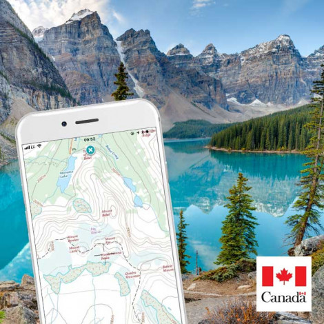 Android Topographic Map App.Free Canada Topo Maps For Iphone App And Android App
