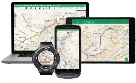 Android Topographic Map App.Walking Routes Hiking Cycling Trails Gps Os Maps Viewranger