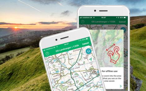 Offline Maps for hikes, trails and bike rides | ViewRanger USA on print maps, online interactive maps, facebook maps, advertising maps, service maps,